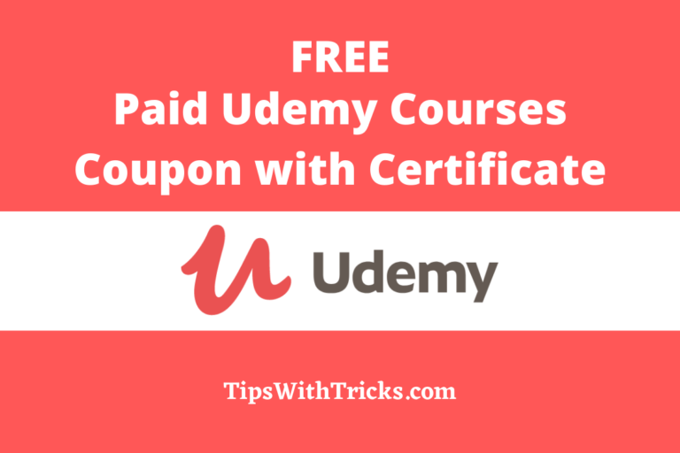 Free Paid Udemy Courses